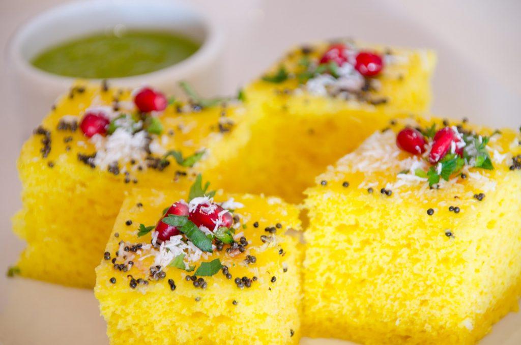 gluten free dhokla